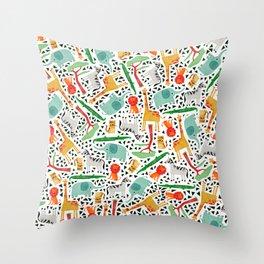 Wild animals 2 Throw Pillow