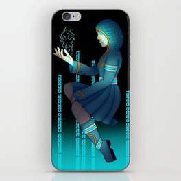 Techno witch iPhone Skin