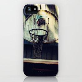 Vancouver Grizzlies iPhone Case