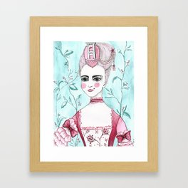 Madame Guillotine Framed Art Print