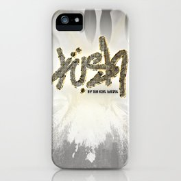 """Igh Kihl Media Signature """"Kush"""" Logo Design iPhone Case"""