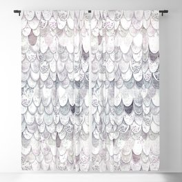 MAGIC MERMAID WHITE Blackout Curtain