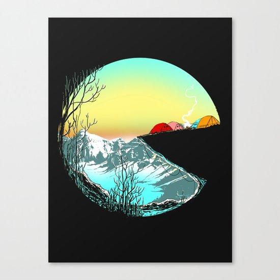 Pac camp Canvas Print