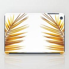 golden palm leaf II iPad Case