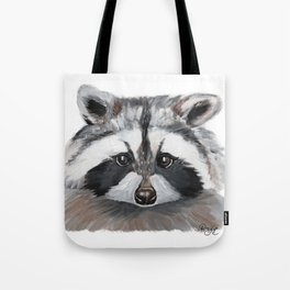 Rhubarb the Raccoon Tote Bag