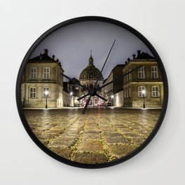 Low Angle shot Wall Clock