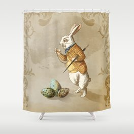 Time for Easter Shower Curtain
