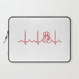 BOWLING HEARTBEAT Laptop Sleeve