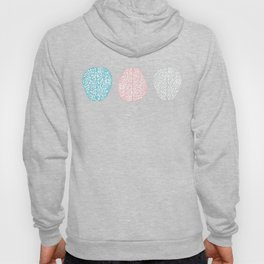 Pastel Brains Pattern Hoody