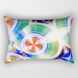 Happy Vitamin C Crystals in Sunlight Rectangular Pillow
