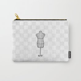 'Mannequin' Carry-All Pouch