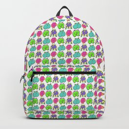 Colorful Hamster Butts Pattern Backpack