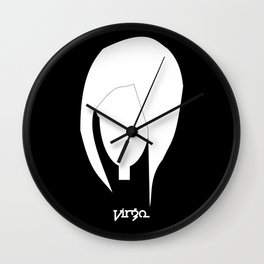 Virgo ~ Zodiac series Wall Clock