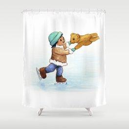 Activist Art: Water is Life Shower Curtain