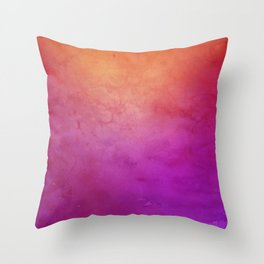 Watercolor BG Throw Pillow