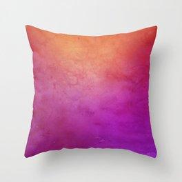 Watercolor BG Throw Pillow