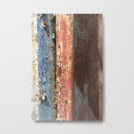 Rusted Train 2 Metal Print