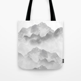 miss colored mountains Tote Bag