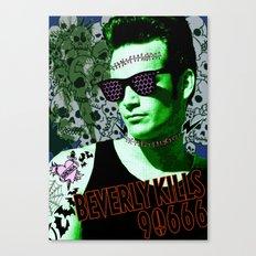 Beverly Kills 90666 Canvas Print