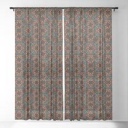 Christmas 003a Sheer Curtain