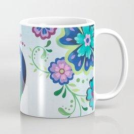 Flaunting It Peacock Coffee Mug