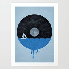 Songs for the Sea Art Print