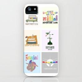 Designers United - All Six Designs iPhone Case