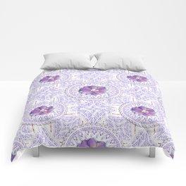 Delphinium Lace Comforters
