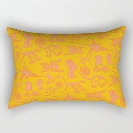Nazca Lines Rectangular Pillow