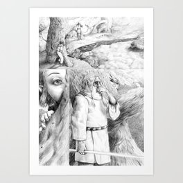 Trïbunal Art Print