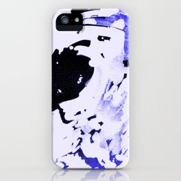 Ice Pack Blue Wave iPhone Case