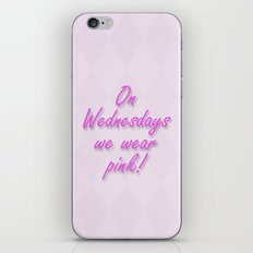 On Wednesdays We Wear Pink iPhone & iPod Skin