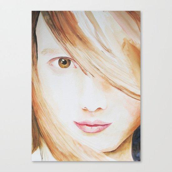 Lila Canvas Print