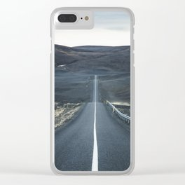 Midnight Driving part 1 Clear iPhone Case