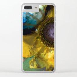 Modern Flower Art - Untamed Beauty - Sharon Cummings Clear iPhone Case