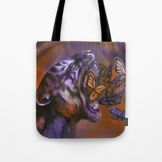 Gentle Roar Tote Bag