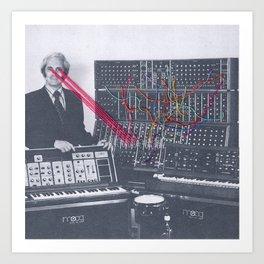Moog Art Prints | Society6