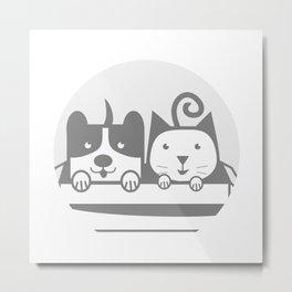 my Pets 02 Metal Print