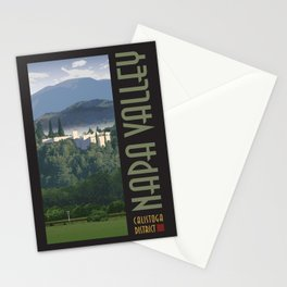 Napa Valley - Sterling Winery, Calistoga District Stationery Cards