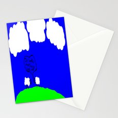 Watching the Clouds Go By Stationery Cards