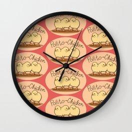 Pollito-chicken Wall Clock