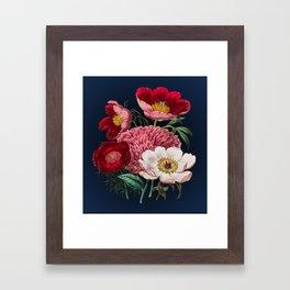 Flower garden III Framed Art Print