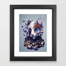 Brightheart Flowers Framed Art Print