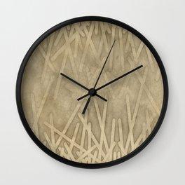sand geode  - Wall Clock