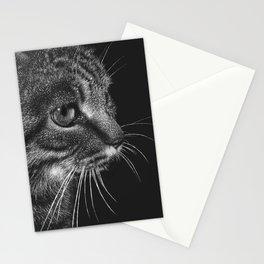 Tabby Cat Portrait Stationery Cards