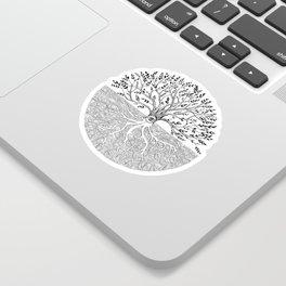 Druid Tree of Life Sticker