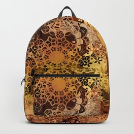 FLORAL GOLD PATTERN I Backpack