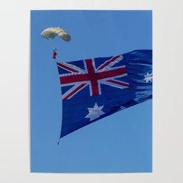 Aussie Flag Poster