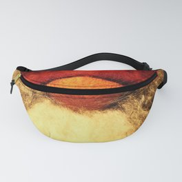 Merry Christmas - Red Nose Elf #decor #society6 #buyart Fanny Pack