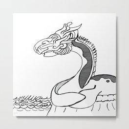 Sea creature Metal Print